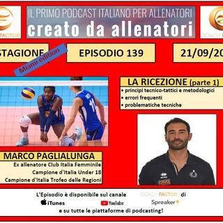 Episodio 139: La ricezione (parte 1) - Marco Paglialunga