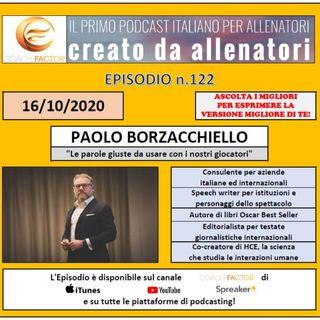 Episodio 122: Paolo Borzacchiello