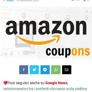 Risparmia Con Amazon Coupon, la pagina dedicata ai coupon