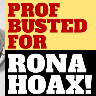 PROF BUSTED FOR HOAX RONA TWITTER ACCOUNT