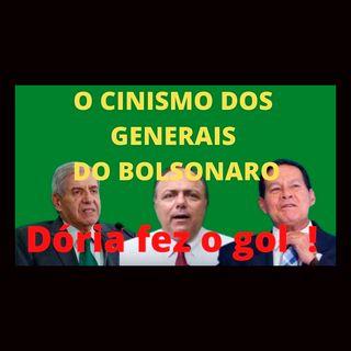 O cinismo dos generais do Bolsonaro