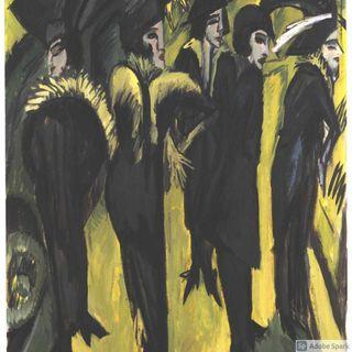 Cinque donne per strada  Kirchner