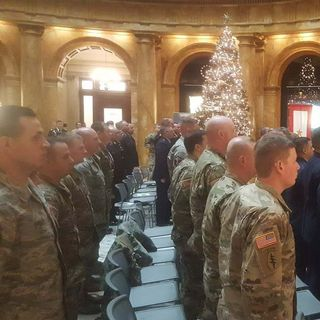 3 National Guardsmen Honored For Heroism At State House