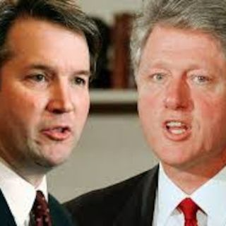 Bill Clinton and Brett Kavanaugh