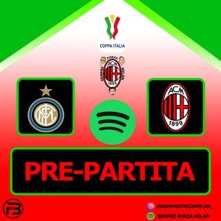 PRE PARTITA COPPA ITALIA | INTER-MILAN
