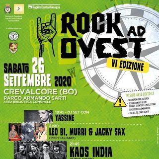 Rock ad ovest: il festival rock che spacca a Crevalcore!