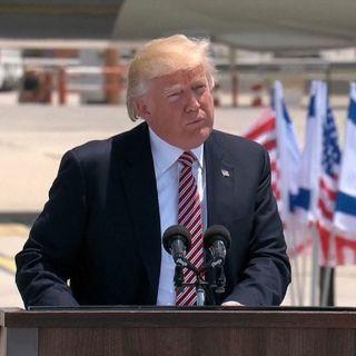 "Trump Touts ""Unbreakable Bond Of Friendship"""