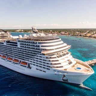 México permite arribo de crucero en Cozumel