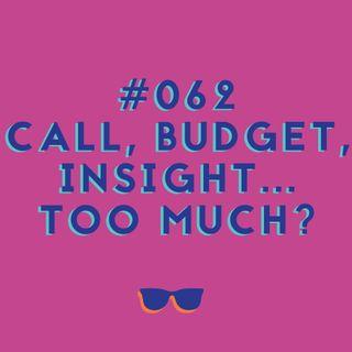 #062 - Budget, pitch, calls... Tantos termos em inglês são mesmo necessários?