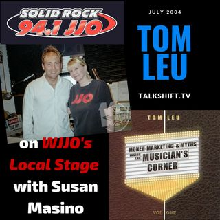 Tom Leu on the WJJO Local Stage