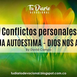 Conflictos personales BAJA AUTOESTIMA DIOS NOS AMA