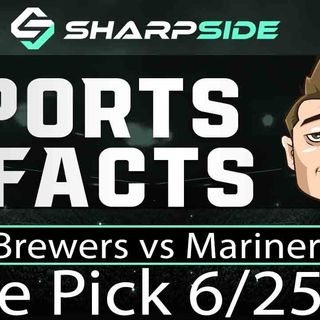 FREE MLB Betting Pick: Brewers vs. Mariners - June 25