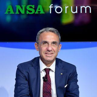 Forum ANSA con il ministro dell'Ambiente, Sergio Costa