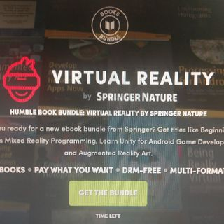 Humble Book Bundle: Virtual Reality By Springer Nature