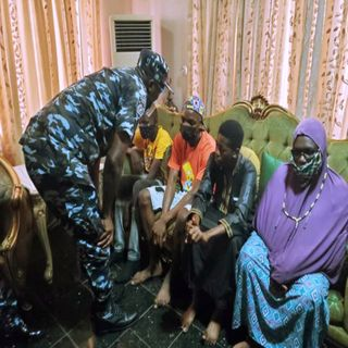 EXTRA-JUDICIAL KILLING: LAGOS CP VISITS FAMILY OF MURDERED JELILI BAKARE.