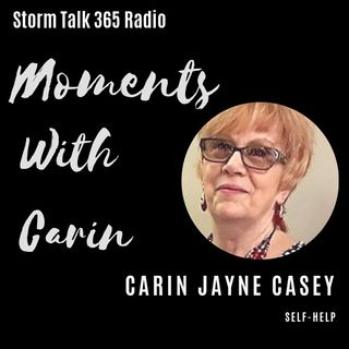 Moments with Carin - Book Corner - Sept