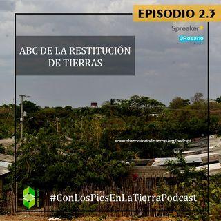 ABC de la Restitución de Tierras