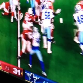 NFC EAST REPORT DALLAS CROCKBOYS LOSE TO AZ ON MNF LEAVING THE DOOR OPEN IN THE DIVISION!!