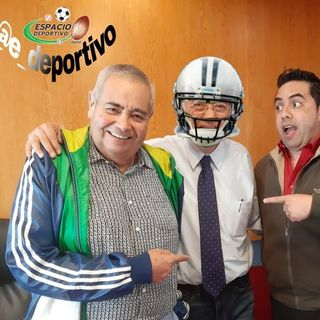 Invitado de Lujo en Espacio Deportivo de la Tarde 04 de Febrero 2020