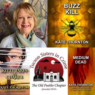 Mystery Author and Writer Kate Thornton