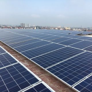 Lắp điện mặt trời áp mái hòa lưới