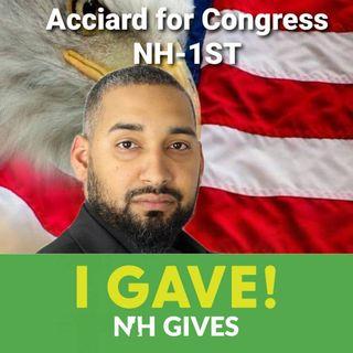 The Chauncey Show-Episode 92 Meet Julian Acciard for NH Congressional District 1