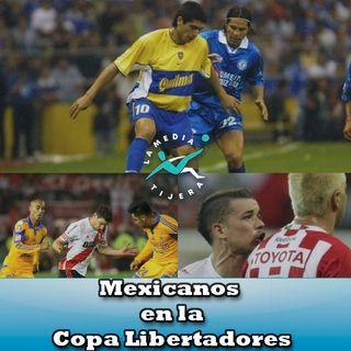 Mexicanos en la Libertadores
