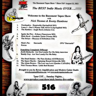 The Basement Tapes with NIck & Bootsy #516