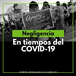 Regimen de Daniel Ortega negligente ante el COVID-19