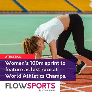 World Athletics Championships final gold medal event to be women's race