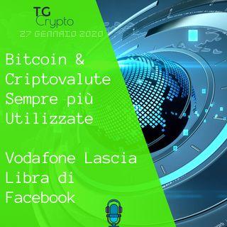 Bitcoin e Criptovalute Sempre più Utilizzate | Vodafone lascia Libra