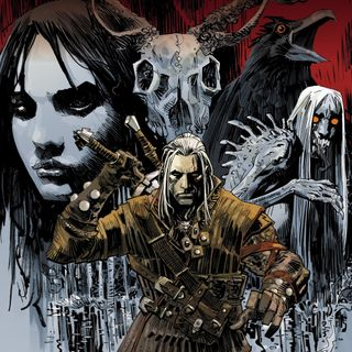 """Source Material #264 - The Witcher """"House of Glass"""" (Dark Horse, 2014)"""