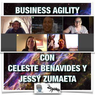 EP21 - Business Agility con Celeste Benavides y Jessy Zumaeta