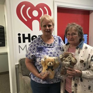 Jan and Teri with Good Bears of the World