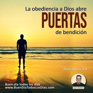 La puerta a La Bendición de Dios