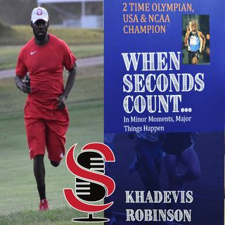 92. 7-Time US 800m Champion and 2-Time Olympian, Khadevis Robinson