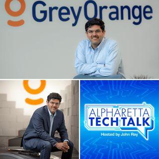 Alpharetta Tech Talk:  Samay Kohli, GreyOrange