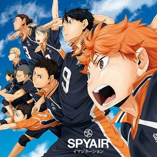 SPYAIR - Imagination (Haikyuu Opening)