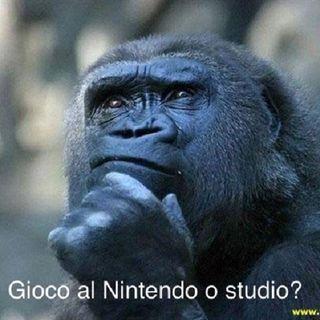 #fo Giochi al Nintendo durante le interrogazioni o risolvi misteri?
