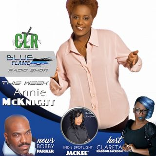 Blue Flame Radio Annie McKnight