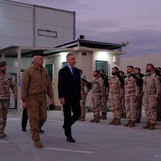 I militari italiani sotto attacco ad Erbil