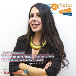ANG inRadio - Radio Cantiere #15 - Eleonora Tricarico e le passioni che diventano lavoro