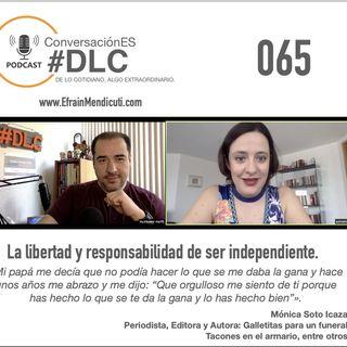 Episodio 065 - ConversaciónES #DLC con Mónica Soto Icaza