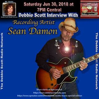 Interview With Sean Damon !!     6-30-18