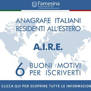 AIRE : Anagrafe Italiani Residenti All'estero