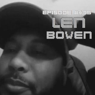 WR475: Len Bowen
