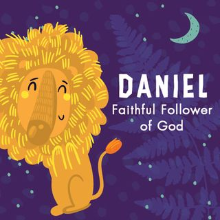 Daniel- Faithful Follower of God with rainfall