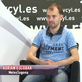 Adrián Escobar, el Hombre del Tiempo, de La 8 Segovia