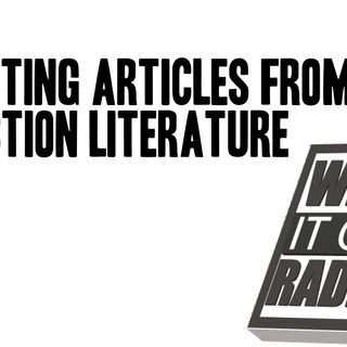 Lessons #9 - Extracting Articles From Non-Fiction Books