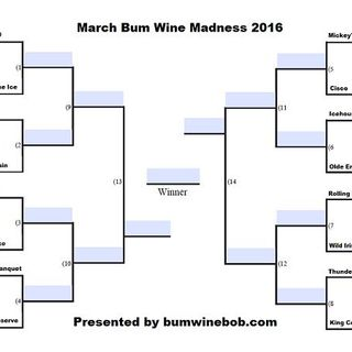 March Bum Wine Madness 2016